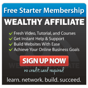 Wealthy Affiliate free starter membership outline