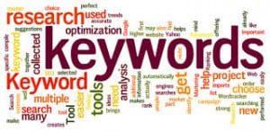 keywords are key for better seo