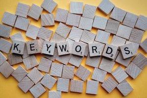keywords targeted