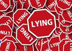 avoiding lies online