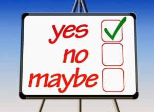 What ever the mind can conceive, believe, achieve? our decision is yes, no or maybe?