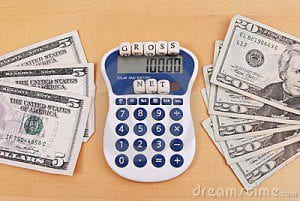 adding up your residual earnings