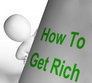 how to get rich online