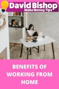 benefits of working from home online