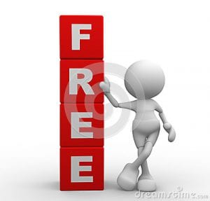 free offers as an option to join
