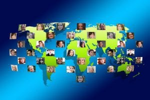 networking around the globe