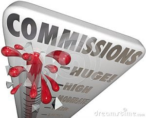 affiliate marketing programs and different level of commissions