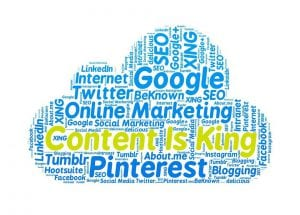 content is king using social media for your online marketing