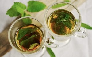 drinking natural herb