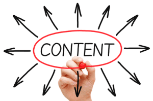 Affiliate Marketing is to create content
