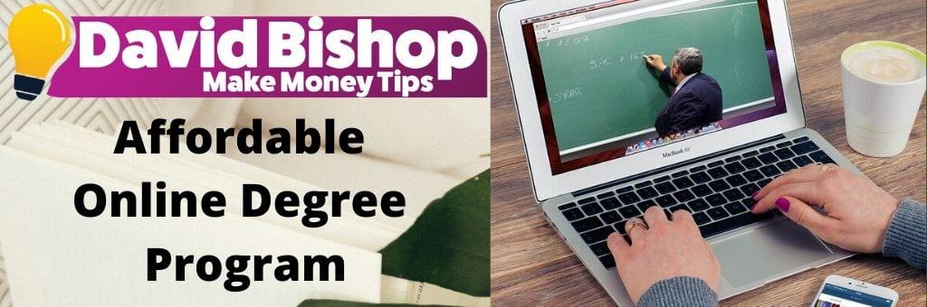 Affordable Online Degree Program