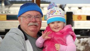 retiree spending time with grand kid
