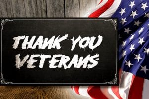 thank you veterans for serving our country
