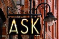 ask questions to get answers to your business