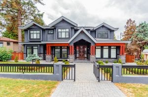 beautiful house with a mortgage plan