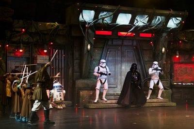Disneyland and star wars