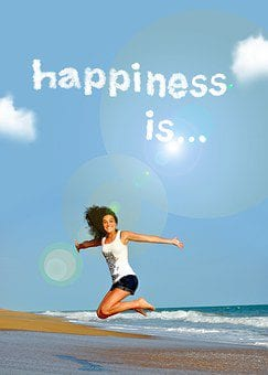 happiness is having success