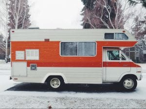 working from home in your RV