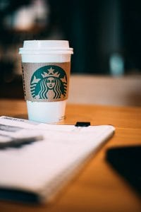 working your business in Starbucks