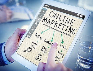 online marketing to build a business from home