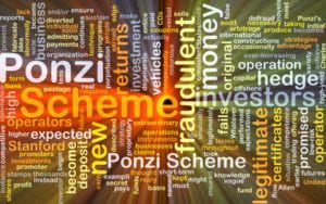 Ponzi scheme that cheat people out there money