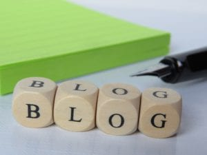 My blog for my home business