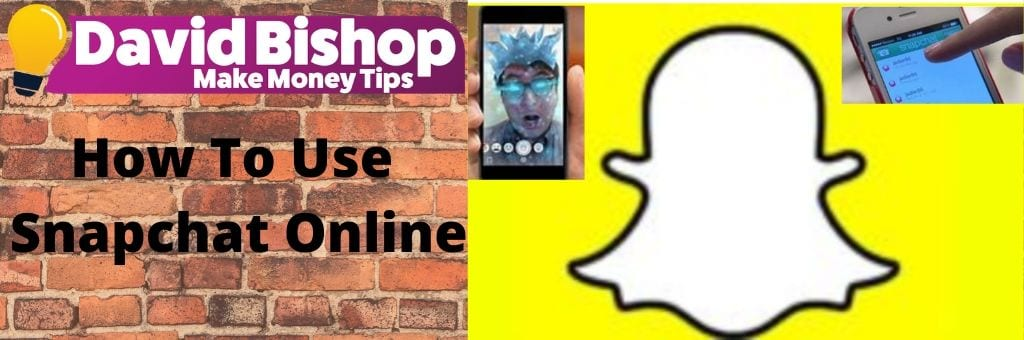 how to use snapchat online