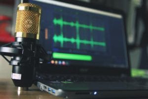 using the right microphone to learn How To Do Affiliate Marketing On YouTube