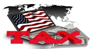 paying tax for american online jobs