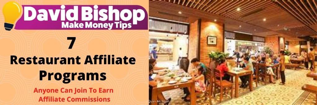 Restaurant Affiliate Programs