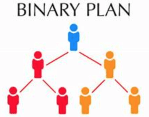 Binary level with Lifewave mlm review with each level recruiting two people