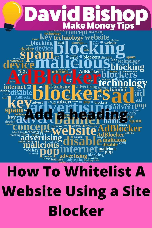 How To Whitelist A Website using Gite Blocker