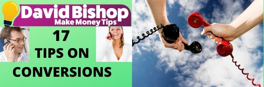 17 Tips On Conversions - conversation is one