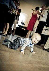 funny moves across the dance floor