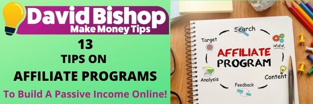 tips on affiliate programs