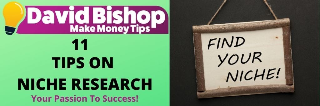 11 Tips On Niche Research