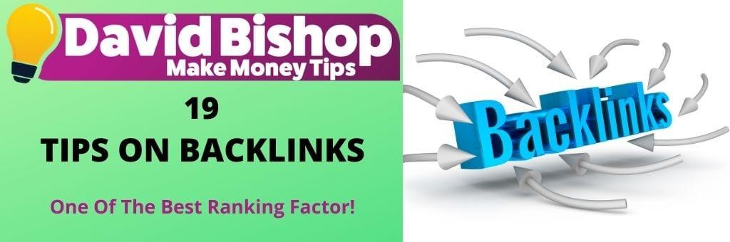 19 Tips on backlinks