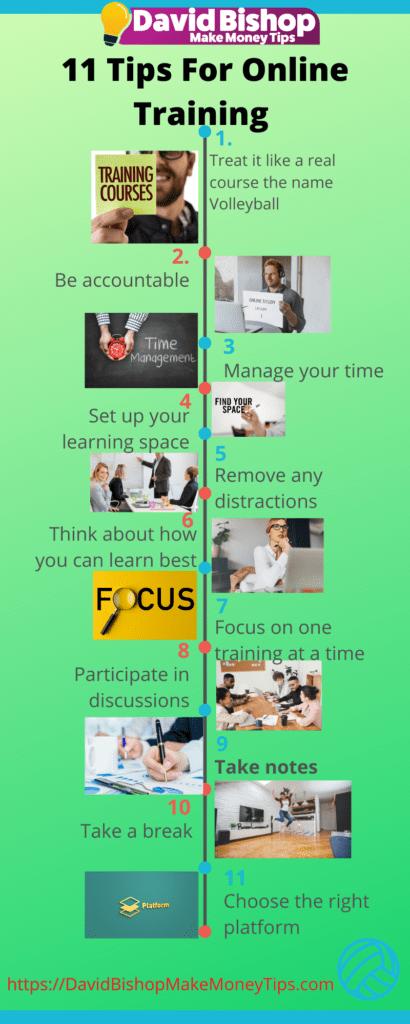 tips for online training