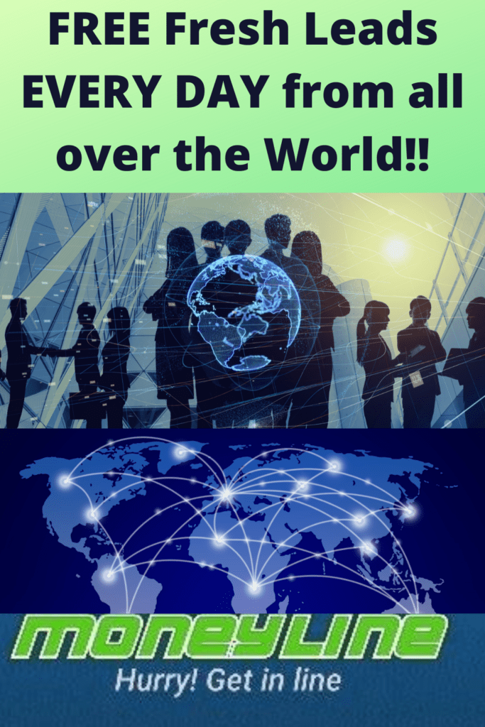 Global MoneyLine review - Free leads every day from all over the world
