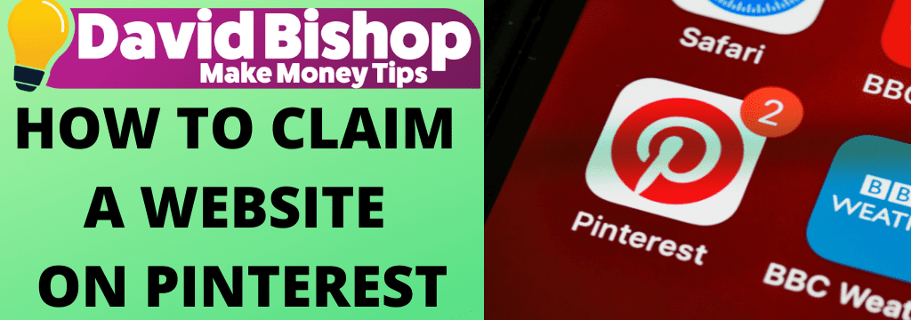 HOW TO CLAIM A WEBSITE ON PINTEREST